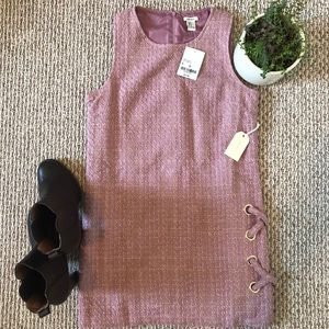 FOREVER21 💜 NWT Beautiful Tweed Dress in Lilac